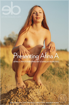 EroticBeauty - Afina A - Presenting Afina A by Stanislav Borovec
